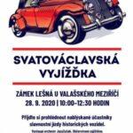 Historická vozidla zavítají na zámek Lešná uValašského Meziříčí
